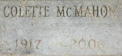 MCMAHON, COLETTE - Clinton County, Iowa | COLETTE MCMAHON