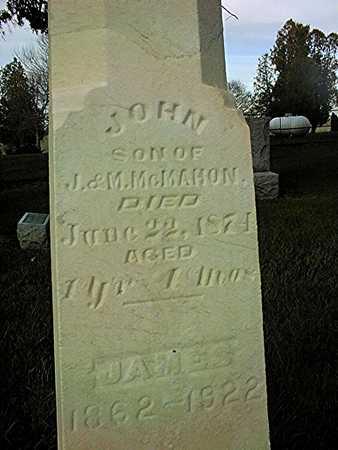 MCMAHON, JAMES - Clinton County, Iowa | JAMES MCMAHON