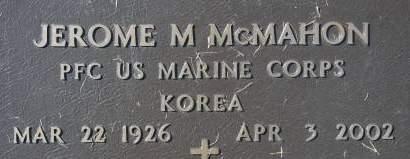 MCMAHON, JEROME M. - Clinton County, Iowa | JEROME M. MCMAHON