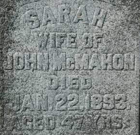 MCMAHON, SARAH - Clinton County, Iowa | SARAH MCMAHON