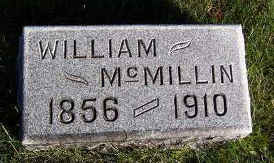 MCMILLIN, WILLIAM - Clinton County, Iowa | WILLIAM MCMILLIN