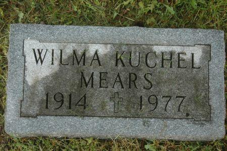 KUCHEL MEARS, WILMA - Clinton County, Iowa   WILMA KUCHEL MEARS