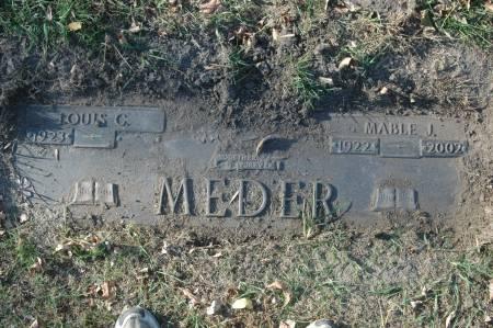 MEDER, LOUIS G. - Clinton County, Iowa   LOUIS G. MEDER