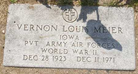 MEIER, VERNON LOUIS - Clinton County, Iowa | VERNON LOUIS MEIER