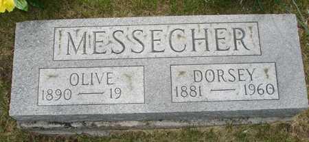 MESSECHER, DORSEY - Clinton County, Iowa | DORSEY MESSECHER