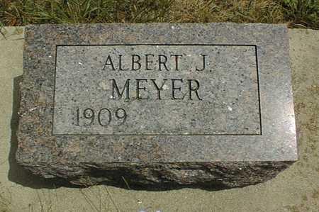 MEYER, ALBERT J. - Clinton County, Iowa | ALBERT J. MEYER