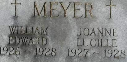 MEYER, JOANNE LUCILLE - Clinton County, Iowa | JOANNE LUCILLE MEYER