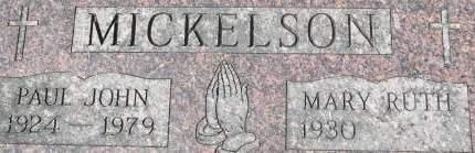 MICKELSON, PAUL JOHN - Clinton County, Iowa   PAUL JOHN MICKELSON