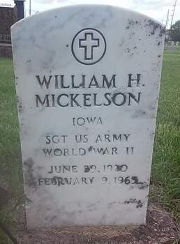 MICKELSON, WILLIAM H. - Clinton County, Iowa | WILLIAM H. MICKELSON