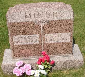 MINOR, GUY - Clinton County, Iowa | GUY MINOR