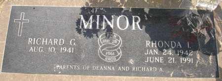 MINOR, RICHARD G. - Clinton County, Iowa | RICHARD G. MINOR