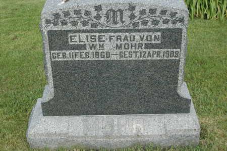 MOHR, ELSIE - Clinton County, Iowa   ELSIE MOHR