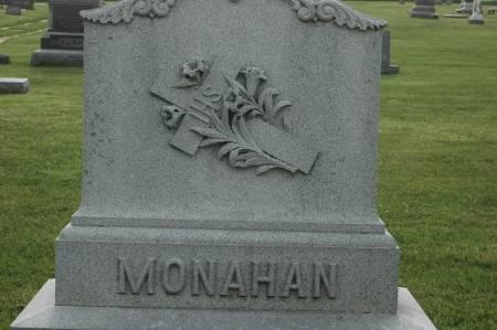 MONAHAN, FAMILY MONUMENT - Clinton County, Iowa   FAMILY MONUMENT MONAHAN