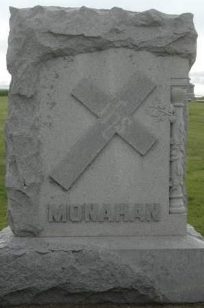MONAHAN, FAMILY MONUMENT - Clinton County, Iowa | FAMILY MONUMENT MONAHAN