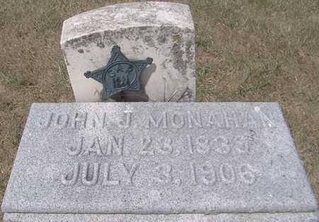 MONAHAN, JOHN J. - Clinton County, Iowa   JOHN J. MONAHAN