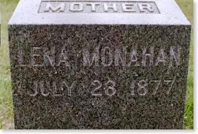 MONAHAN, LENA - Clinton County, Iowa | LENA MONAHAN