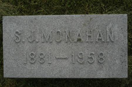MONAHAN, S.J. - Clinton County, Iowa | S.J. MONAHAN