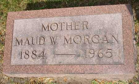 MORGAN, MAUD W. - Clinton County, Iowa | MAUD W. MORGAN