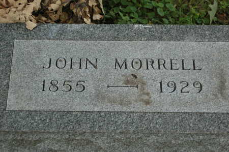 MORRELL, JOHN - Clinton County, Iowa   JOHN MORRELL