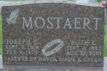 MOSTAERT, JOSEPH C. - Clinton County, Iowa | JOSEPH C. MOSTAERT