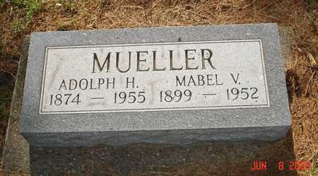 MUELLER, MABEL V. - Clinton County, Iowa | MABEL V. MUELLER
