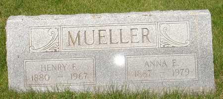 MUELLER, HENRY - Clinton County, Iowa | HENRY MUELLER