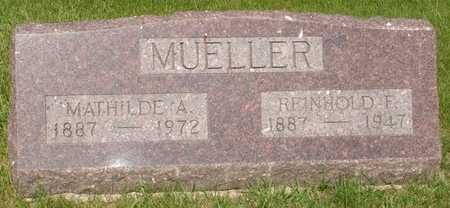 MUELLER, MATHILDE A. - Clinton County, Iowa | MATHILDE A. MUELLER