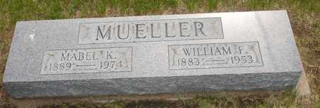 MUELLER, MABEL K. - Clinton County, Iowa | MABEL K. MUELLER