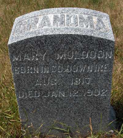 MULDOON, MARY - Clinton County, Iowa | MARY MULDOON