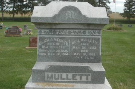 MULLETT, M.J. - Clinton County, Iowa | M.J. MULLETT