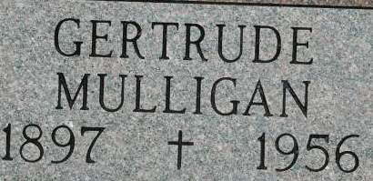 MULLIGAN, GERTRUDE - Clinton County, Iowa | GERTRUDE MULLIGAN