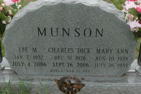 MUNSON, LEE M. - Clinton County, Iowa | LEE M. MUNSON