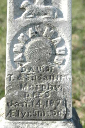 MURPHY, ANNA MAUD - Clinton County, Iowa | ANNA MAUD MURPHY