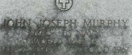 MURPHY, JOHN JOSEPH - Clinton County, Iowa | JOHN JOSEPH MURPHY