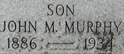 MURPHY, JOHN M. - Clinton County, Iowa   JOHN M. MURPHY
