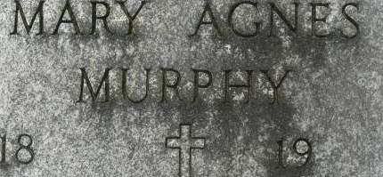 MURPHY, MARY AGNES - Clinton County, Iowa | MARY AGNES MURPHY