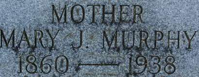 MURPHY, MARY J. - Clinton County, Iowa   MARY J. MURPHY