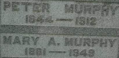 MURPHY, PETER - Clinton County, Iowa | PETER MURPHY