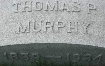 MURPHY, THOMAS P. - Clinton County, Iowa | THOMAS P. MURPHY