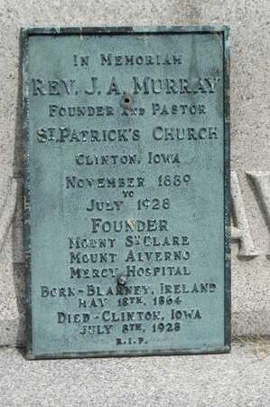 MURRAY, J.A. - Clinton County, Iowa   J.A. MURRAY
