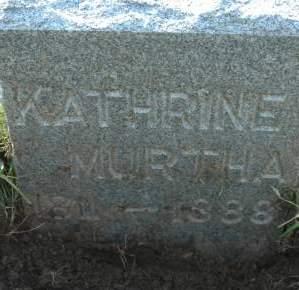 MURTHA, KATHRINE - Clinton County, Iowa | KATHRINE MURTHA