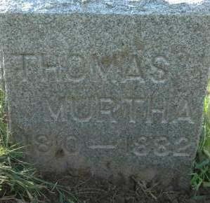 MURTHA, THOMAS - Clinton County, Iowa | THOMAS MURTHA