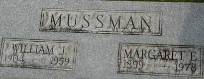 MUSSMAN, WILLIAM J. - Clinton County, Iowa | WILLIAM J. MUSSMAN