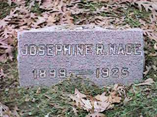 NACE, JOSEPHINE R - Clinton County, Iowa | JOSEPHINE R NACE