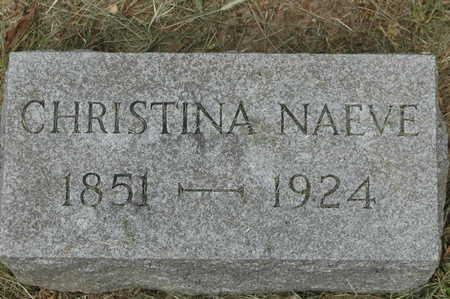 NAEVE, CHRISTINA - Clinton County, Iowa   CHRISTINA NAEVE