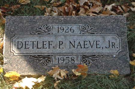 NAEVE, DETLEF P. JR. - Clinton County, Iowa | DETLEF P. JR. NAEVE