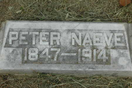 NAEVE, PETER - Clinton County, Iowa | PETER NAEVE