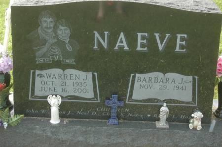NAEVE, WARREN J. - Clinton County, Iowa   WARREN J. NAEVE
