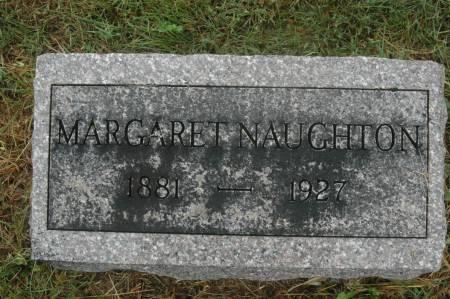 NAUGHTON, MARGARET - Clinton County, Iowa   MARGARET NAUGHTON