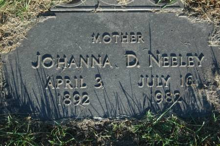 NEELEY, JOHANNA D. - Clinton County, Iowa | JOHANNA D. NEELEY